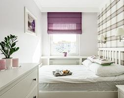 Apartament prowansalski – Aviator – Gdańsk - Sypialnia, styl prowansalski - zdjęcie od Anna Serafin Architektura Wnętrz