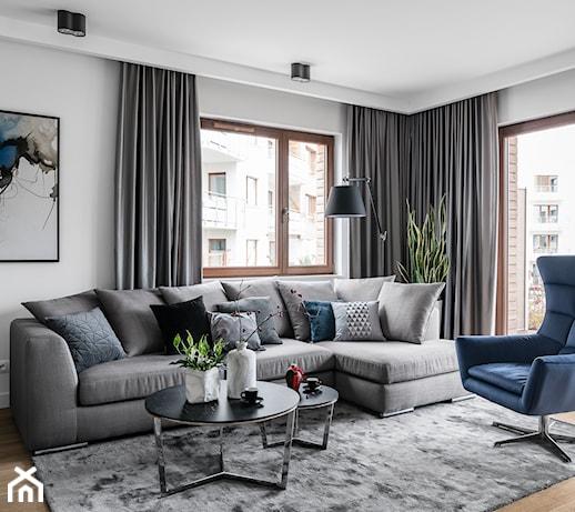 Szarość w mieszkaniu – uniwersalny kolor pasujący do wszystkiego. Z czym najlepiej łączyć?