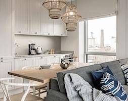 Apartament YACHT PARK 1 - Gdynia - Kuchnia, styl klasyczny - zdjęcie od Anna Serafin Architektura Wnętrz - Homebook