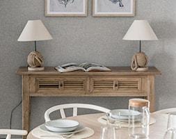 Apartament YACHT PARK 2- Gdynia - Salon, styl kolonialny - zdjęcie od Anna Serafin Architektura Wnętrz - Homebook