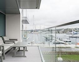 Apartament YACHT PARK 2- Gdynia - Domy, styl nowoczesny - zdjęcie od Anna Serafin Architektura Wnętrz - Homebook