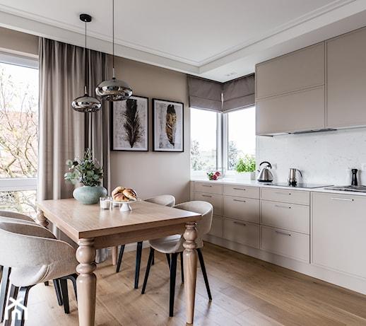 Panele w kuchni - poznaj wady i zalety paneli podłogowych w kuchni