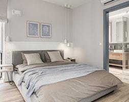 Apartament YACHT PARK 2- Gdynia - Sypialnia, styl kolonialny - zdjęcie od Anna Serafin Architektura Wnętrz - Homebook