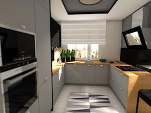 Wizualizacja Kuchnia - zdjęcie od Anna Błaszczuk Architekt Wnętrz | Piła | Projektowanie wnetrz pila |
