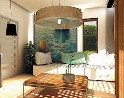 Projekt salonu - Łazienka, styl nowoczesny - zdjęcie od Anna Błaszczuk Architekt Wnętrz   Piła   Projektowanie wnetrz pila  