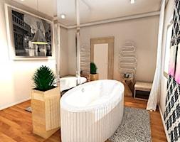 Nowoczesna łazienka - zdjęcie od Anna Błaszczuk Architekt Wnętrz | Piła | Projektowanie wnetrz pila |