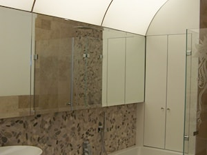 Apartament Weekendowy Neptun Park - realizacja 2011 - Łazienka, styl eklektyczny - zdjęcie od Mogho-Design