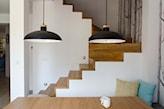 minimalistyczne schody scandi