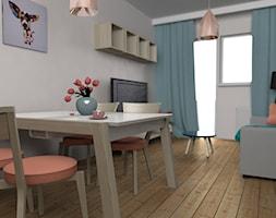 projekt salonu z anesksem kuchennym projekt martyna szulist homebook. Black Bedroom Furniture Sets. Home Design Ideas