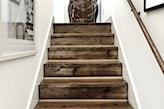 oryginalne schody rustykalne
