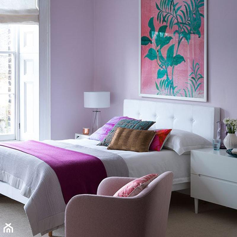 Kolor I Deseń Kolor Miesiąca Lila Sypialnia Styl