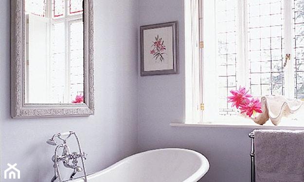 romantyczna łazienka w stylu retro