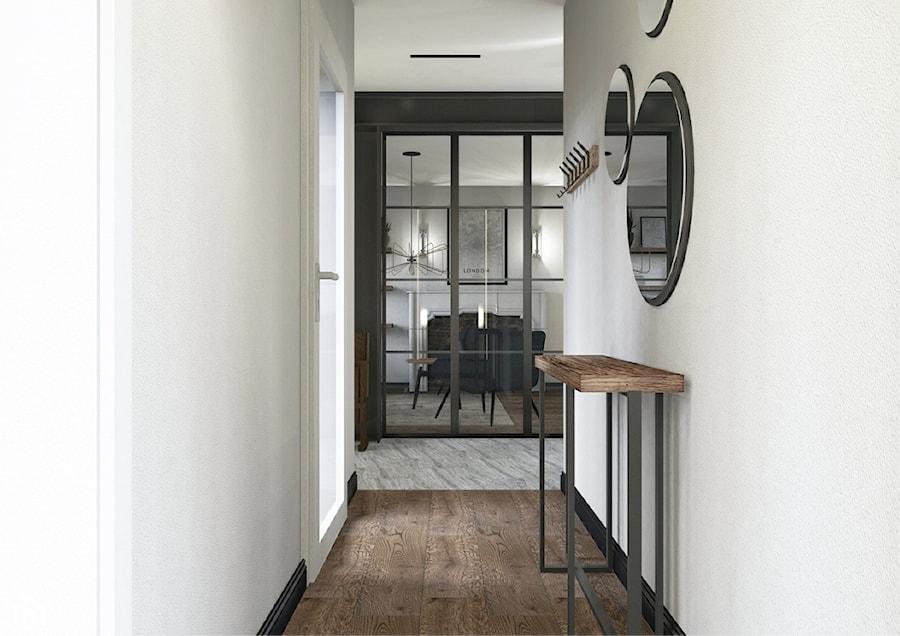 Projekt mieszkania w stylu industrialnym II - Hol / przedpokój, styl industrialny - zdjęcie od Karolina Saj-Chodorowska Architektura Wnętrz