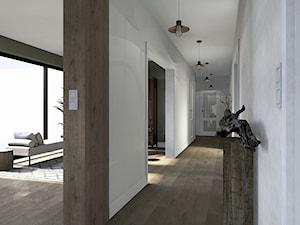 Drewniana podłoga w korytarzu - zdjęcie od Karolina Saj-Chodorowska Architektura Wnętrz