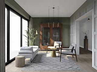 Projekt w stylu Modern Farmhouse