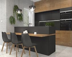 P.15+Dom+w+Miko%C5%82owie+-+kuchnia+-+wersja+%22+black+coffee+%22+-+zdj%C4%99cie+od+MINIZMA