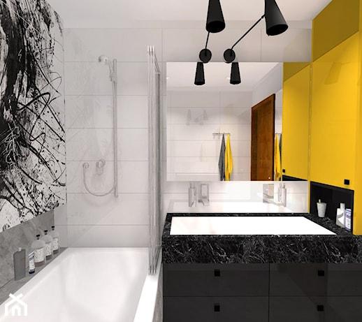Marmur W łazience Kamień W łazience Fototapeta W łazience