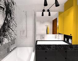 żółta łazienka Projekty I Wystrój Wnętrz Galeria