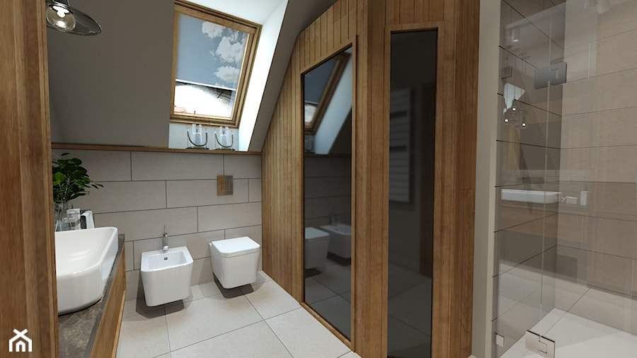 Sypialnia Z łazienką I Garderobą Zdjęcie Od Pracovnia