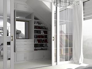 Biała garderoba na poddaszu - zdjęcie od gabriella-bober