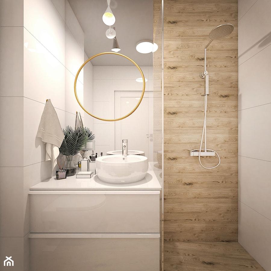 łazienka Biel Drewno Zdjęcie Od Gabriella Bober Homebook