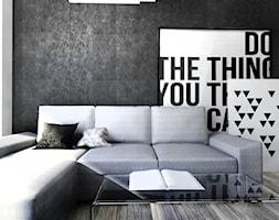 Salon II biel+beton - zdjęcie od gabriella-bober - Homebook