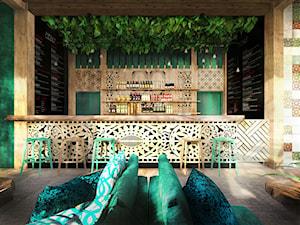 Projekt restauracji balijskiej