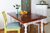 farba kredowa przy renowacji stołu
