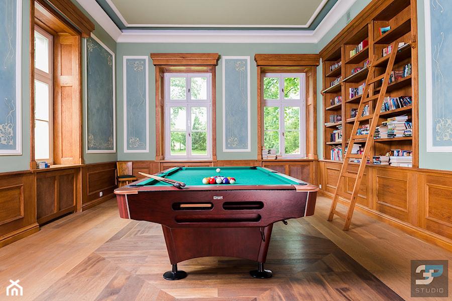 Pałac w Kłonicach - biblioteka - zdjęcie od 3P-STUDIO | FOTOGRAFIA ARCHITEKTURY I WNĘTRZ
