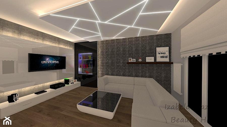 Nowoczesny salon w luksusowym apartamencie w Radomiu? - zdjęcie od Beauty Homes