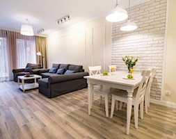 Apartament II | Gdańsk - Salon, styl prowansalski - zdjęcie od kuldesign