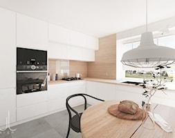 Projekt kuchni z jadalnią - zdjęcie od kuldesign