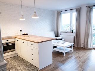 Jak urządzić kuchnię z salonem w bloku?