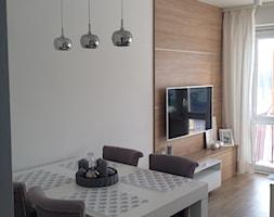 Metamorfoza trzypokojowego mieszkania w bloku z wielkiej płyty - Salon, styl nowoczesny - zdjęcie od Frycka82 - Homebook