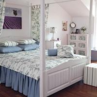 New romantic, czyli zmysłowa aranżacja sypialni - Dekoria.pl, Style we wnętrzach, Sypialnia