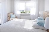 okna w sypialni trendy aranżacja