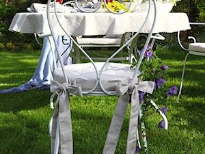 Pomysł na jadalnię w ogrodzie
