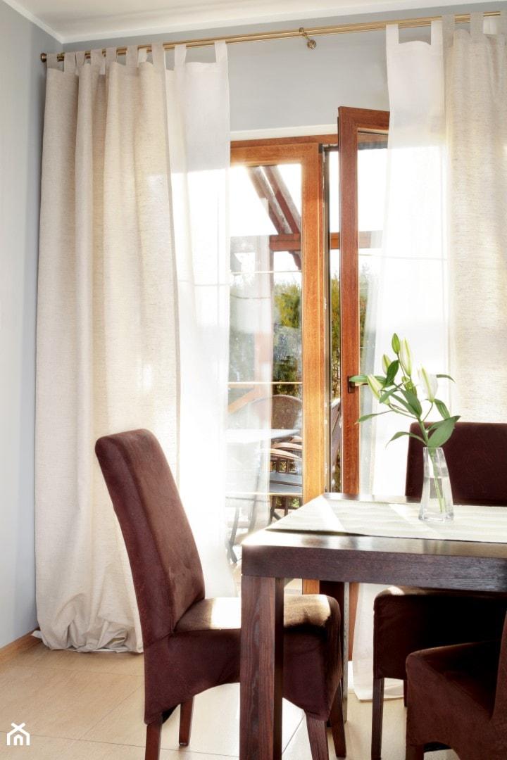 Naturalny Len Idealna Dekoracja Okna Zdjęcie Od Dekoria