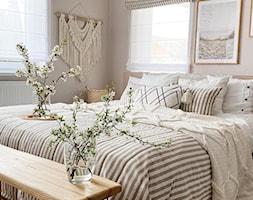 Sypialnia w stylu Boho - zdjęcie od Dekoria.pl - Homebook