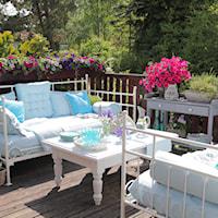 Barwna aranżacja tarasu i balkonu, Ogród, Porady