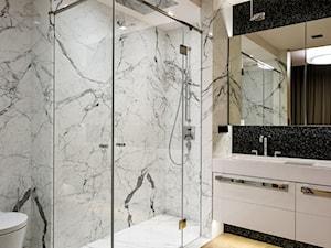 APARTAMENT POWISLE - Średnia łazienka w domu jednorodzinnym, styl nowoczesny - zdjęcie od Republika Architektury