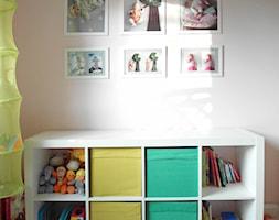 M_75 Oborniki Śląskie - Biały pokój dziecka dla chłopca dla dziewczynki dla rodzeństwa dla niemowlaka dla malucha, styl nowoczesny - zdjęcie od MESH