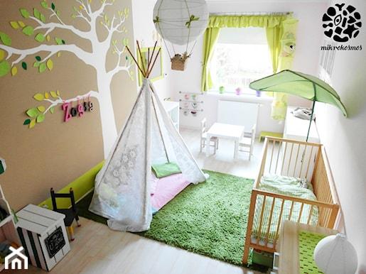 zielony pokój dziecięcy