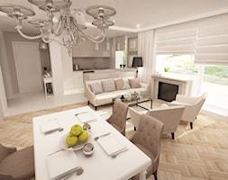 Mieszkanie w stylu glamour - Mały szary hol / przedpokój, styl glamour - zdjęcie od MKdesigner - Homebook