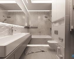 Styl i elegancja w łazience - Średnia łazienka bez okna, styl nowoczesny - zdjęcie od MKdesigner