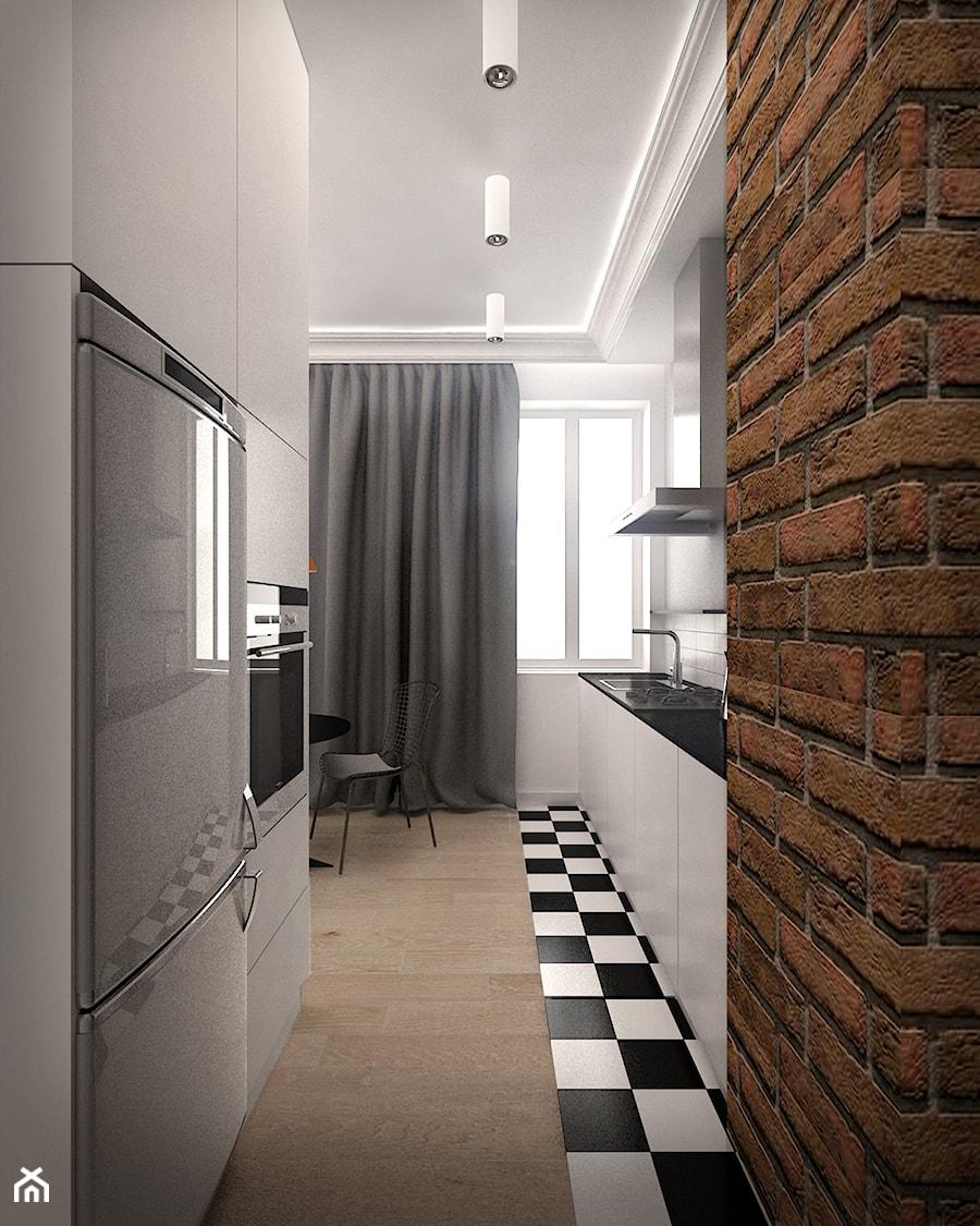 widok kuchni - zdjęcie od MKdesigner