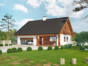 Projekt domu - Murator C333c - Miarodajny - wariant III