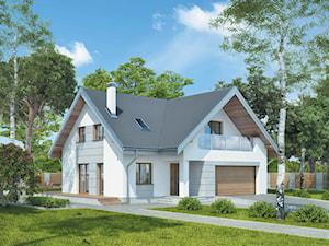 Projekt domu - Murator M197 - Niepospolity