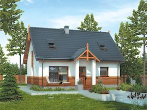 Projekt Domu - Murator M207 - Nasz domek