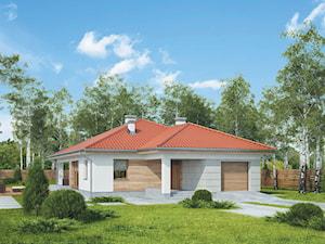 Projekt Domu - Murator M203 - Perłowy świt